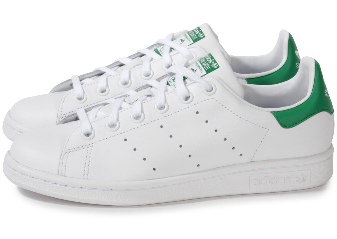 adidas femme stan smith vert